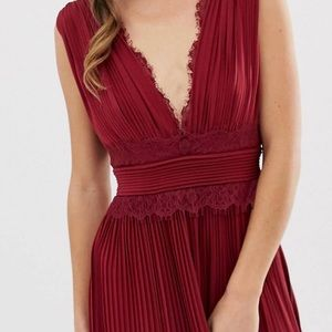 Beautiful red Asos maxi dress 6